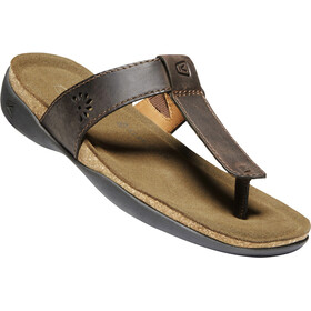 Keen Kaci Ana Posted Sandals Women dark earth
